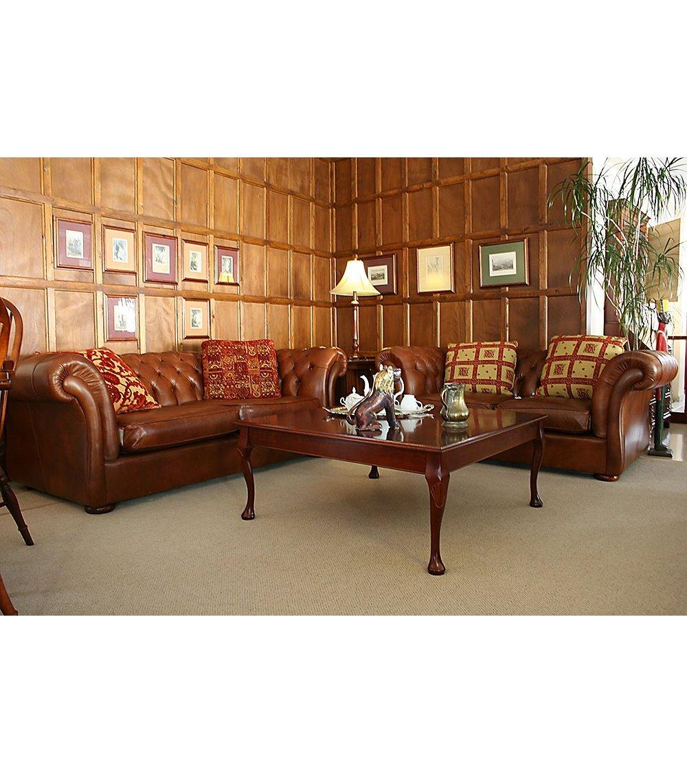 Bayardo Maxi Handmade Leather Chesterfield Sofa
