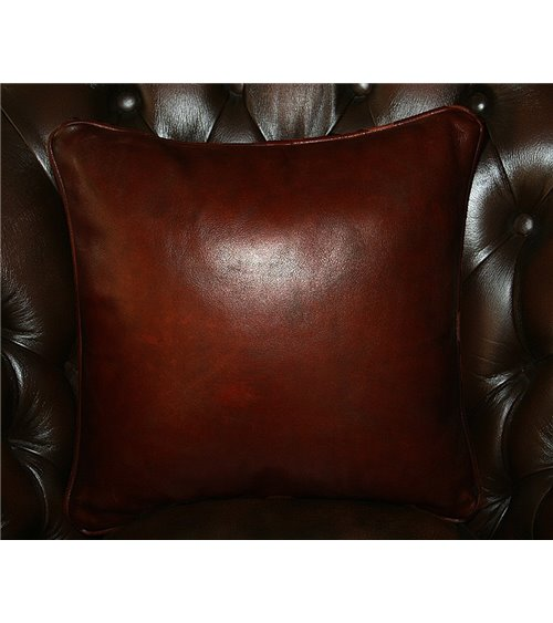 Royal Traditional Handmade English Leather Chesterfield Sofa