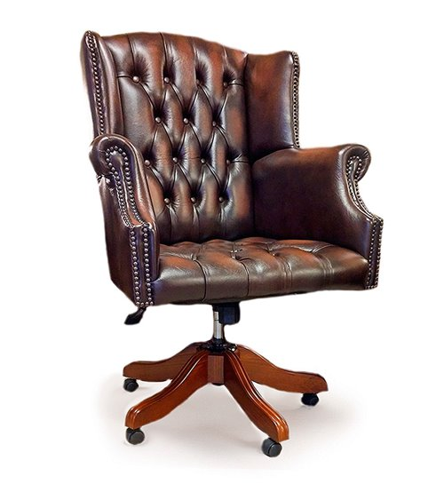 Balmoral Leather Handmade Recliner Chair
