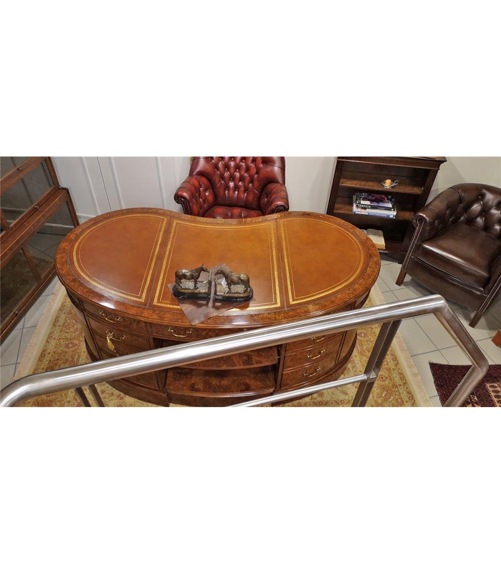 Victorian Handmade Solid Mahogany Ladies Writing Table