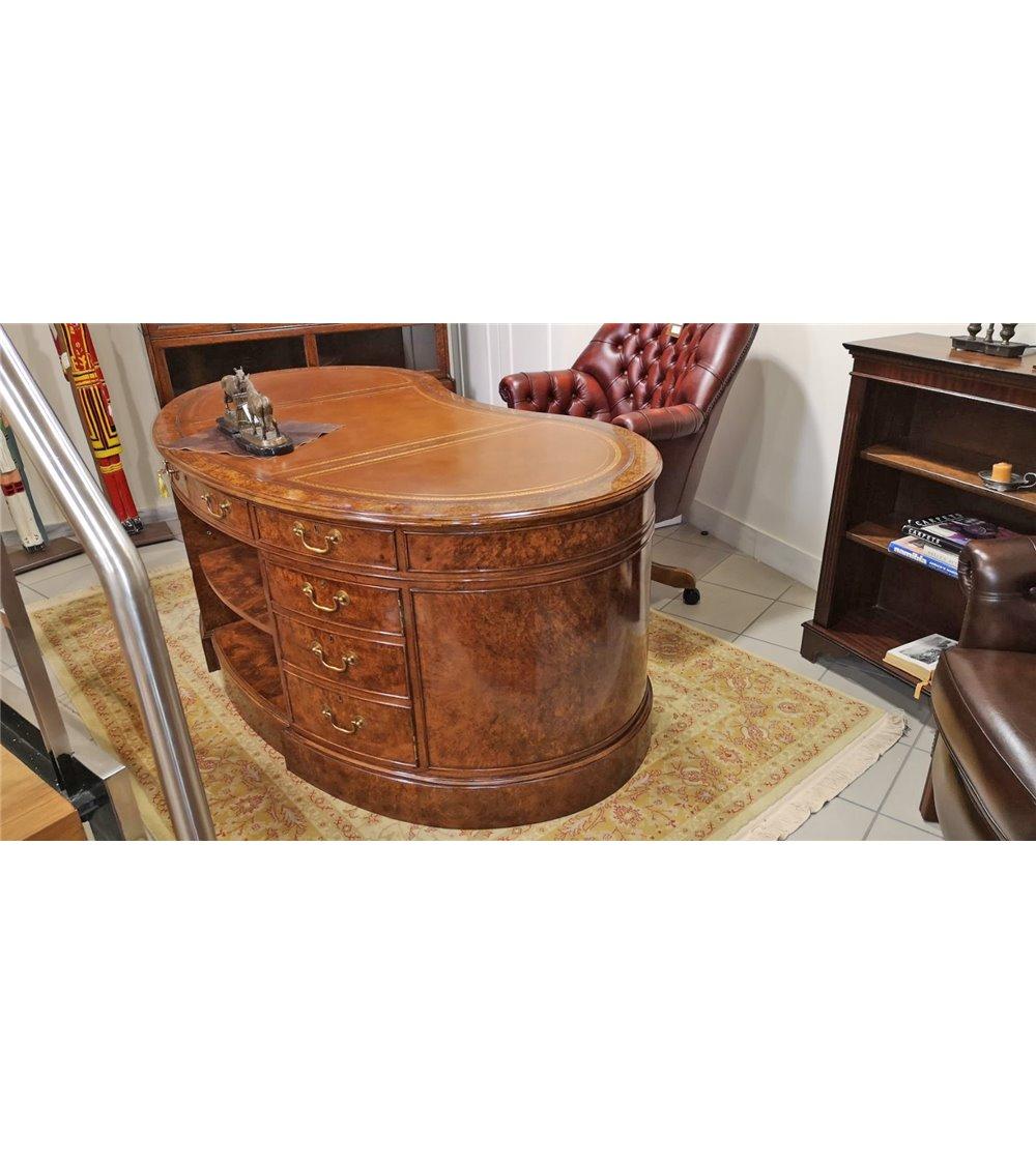 Victorian Chesterfield Handmade Fabric Footstool