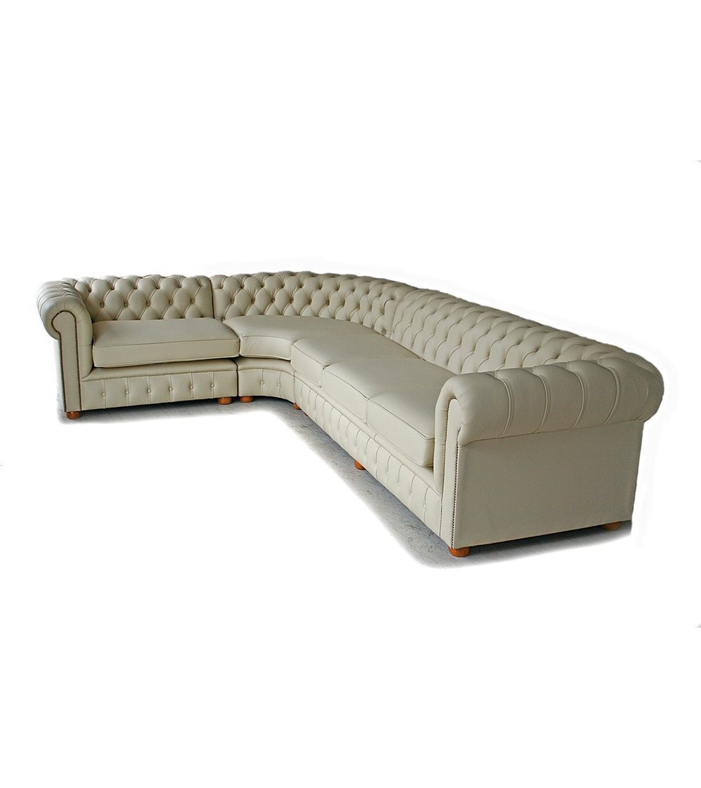 Burlington Original English Handmade Chesterfield Maxi Sofa