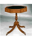 Chippendale Traditional English Chesterfield Small Stool