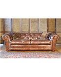 Bayardo Midi Handmade Chesterfield Leather Sofa