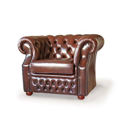 Chesterfield Vintage Maxi Leather Armchair