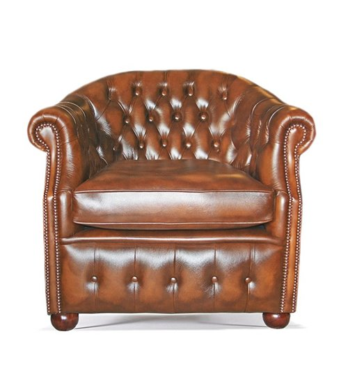 Chatsworth Handmade English Leather Chesterfield Maxi Sofa
