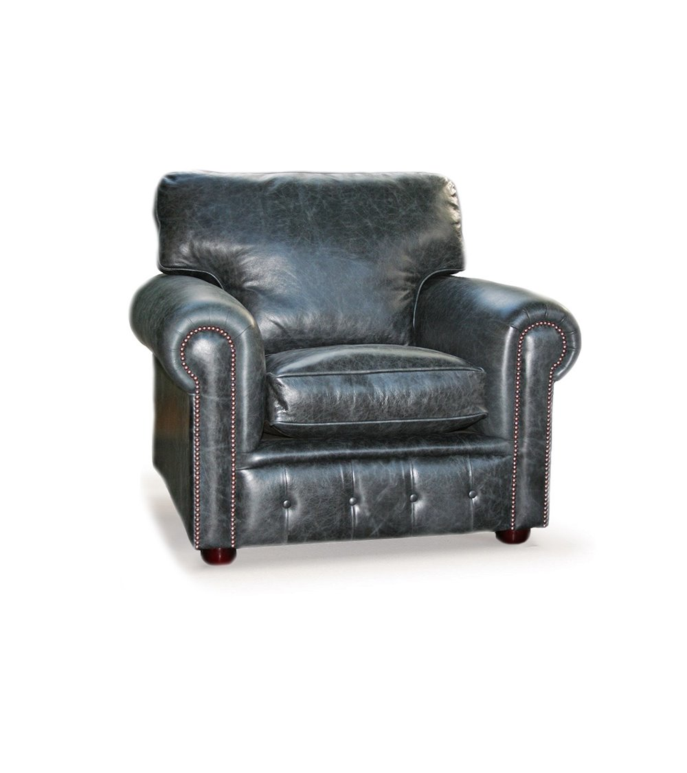 Jasper Chesterfield English Leather Sofa