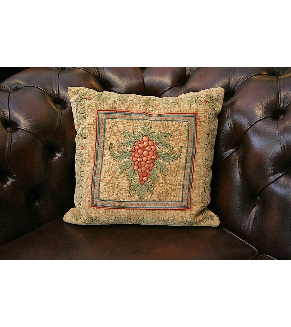 Pug Handmade English Cushion 43x43cm.