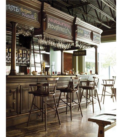 Tudor Oak Home Bar