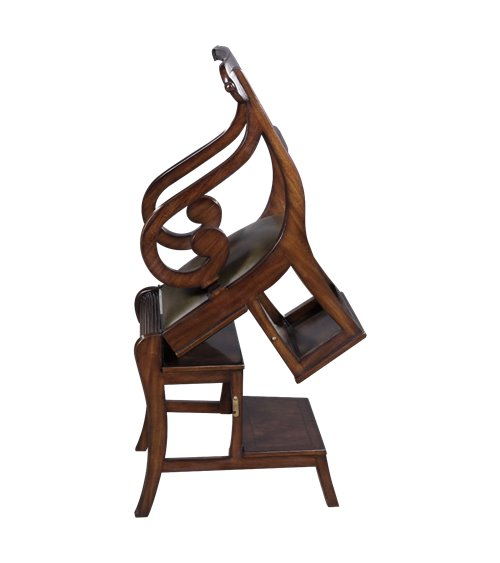 ENGLISH RECENCY LIBRARY CHAIR