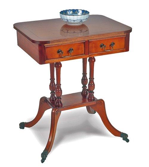 Pillar Box Handmade Traditional English Table