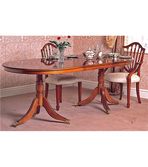 Bow End Traditional English Handmade Dining Table