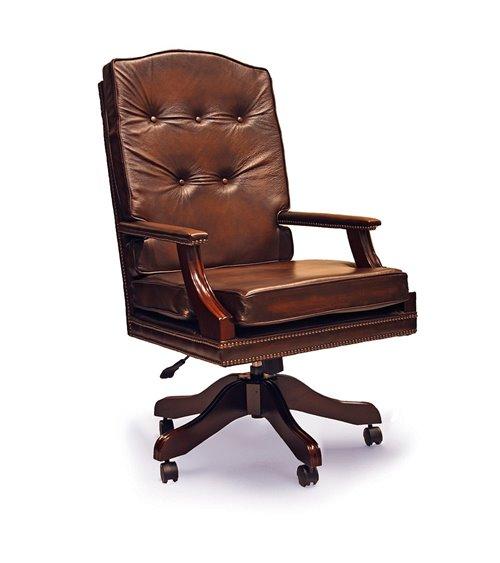 Churchill Traditional English Handmade Chesterfield Swivel Chair