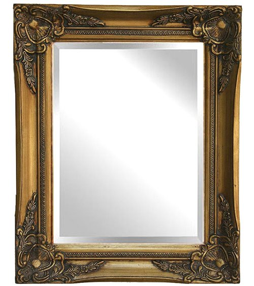 Gold Parallel Handmade Traditional English Mirror