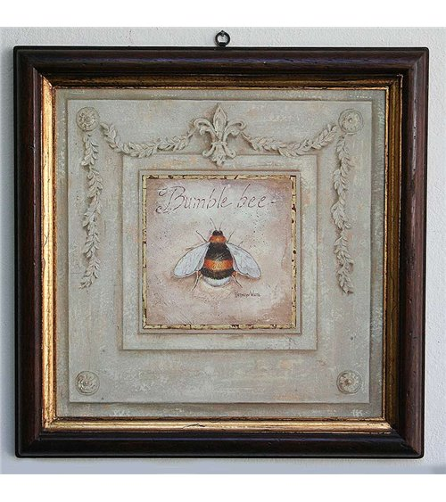 Bumble Bee Handmade Picture Frame