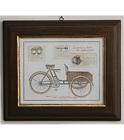 Bicycles Handmade Picture Frame