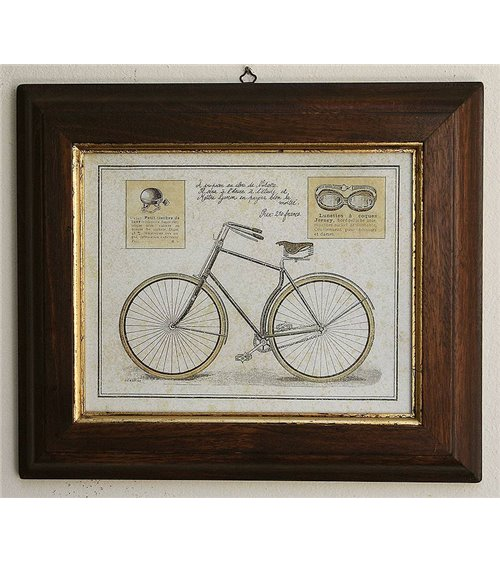 Bicycles 2  Handmade Picture Frame