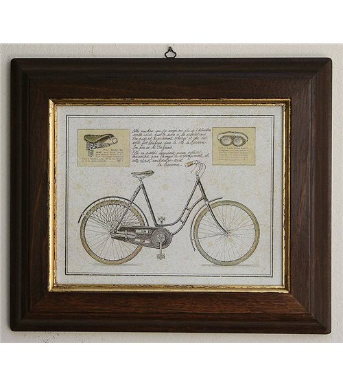 Bicycles 3 Handmade Picture Frame
