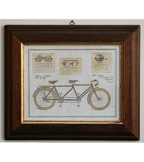 Bicycles 4 Handmade Picture Frame