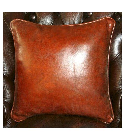 Gentleman's Leather Tradition Handmade Cushion