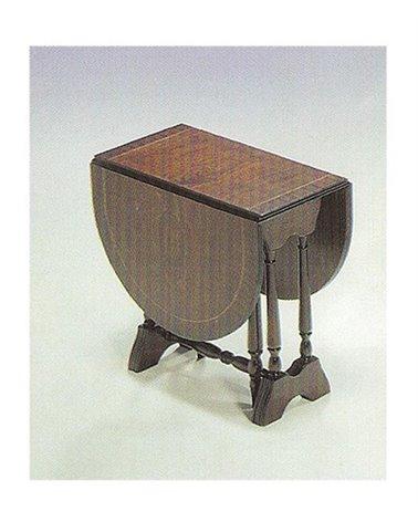 Gate Leg Mini Mahogany Side Table