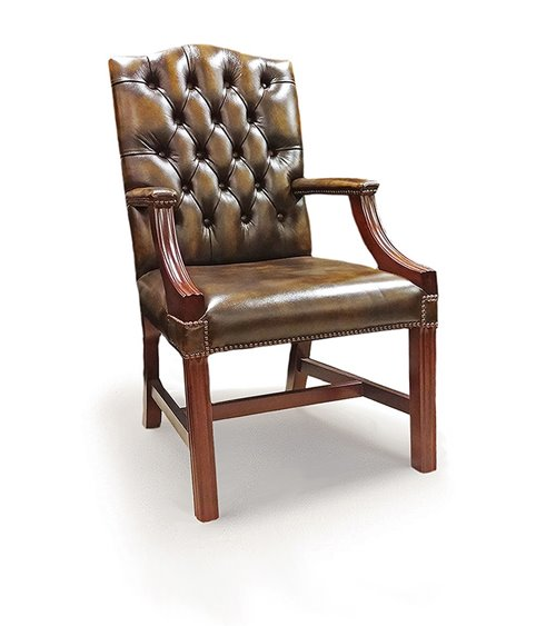 Gainsborough Traditional Handmade English Chesterfield Arm Chair