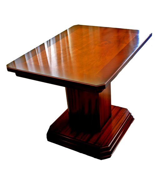 Column Base Handmade Traditional English Table