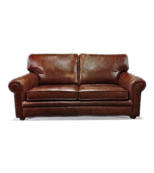 Blenheim Contemporary English Leather Sofa