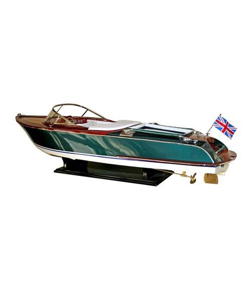 Aquariva Speedboat Handmade Model Boat
