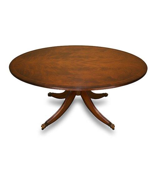 Oval Handmade Traditional English Coffee Table