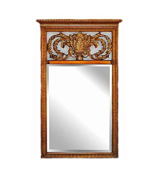 Gold frame large carved handmade mirror
