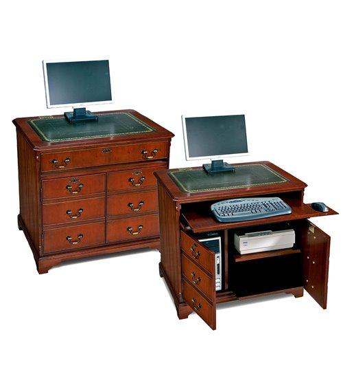 Computer Workstation Handmade Traditional English Desk