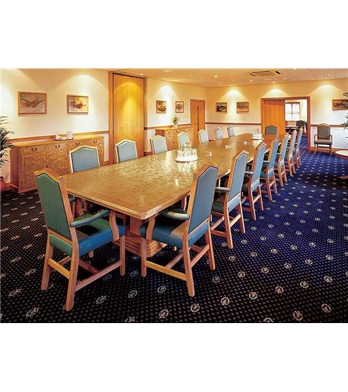 Column Base Handmade Traditional English Conference Table