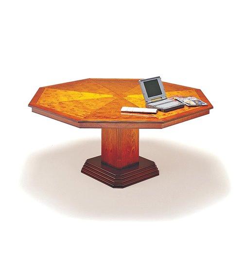 Octagonal Column Base Handmade Traditional English Table