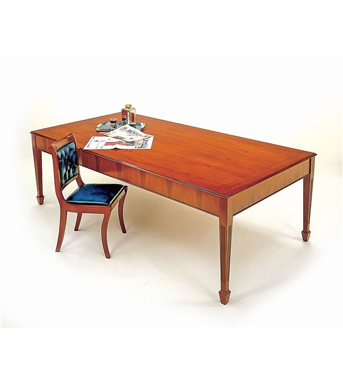 Spade Leg Traditional Handmade English Conference Table