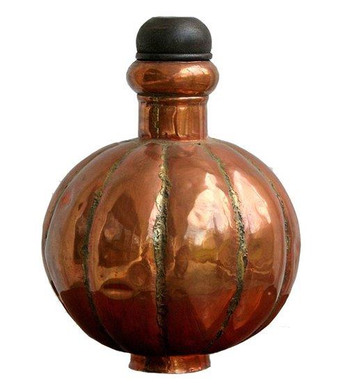 Brass Handmade Flask Pumpkin
