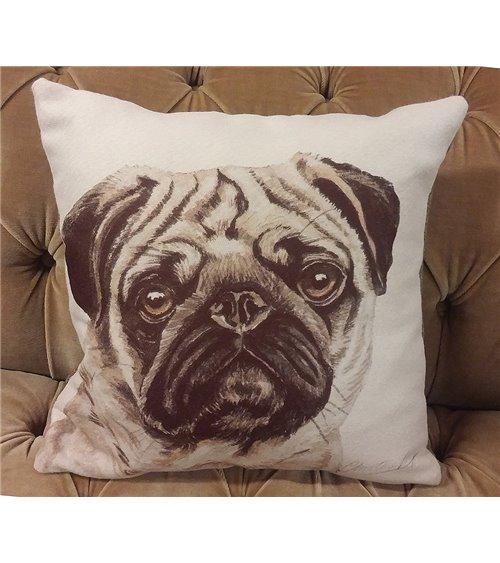 Cat Family Handmade English Cushion
