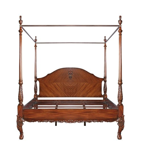 Diana Queen Size Four Poster Bed