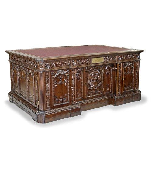 President's Handmade Partner's Desk