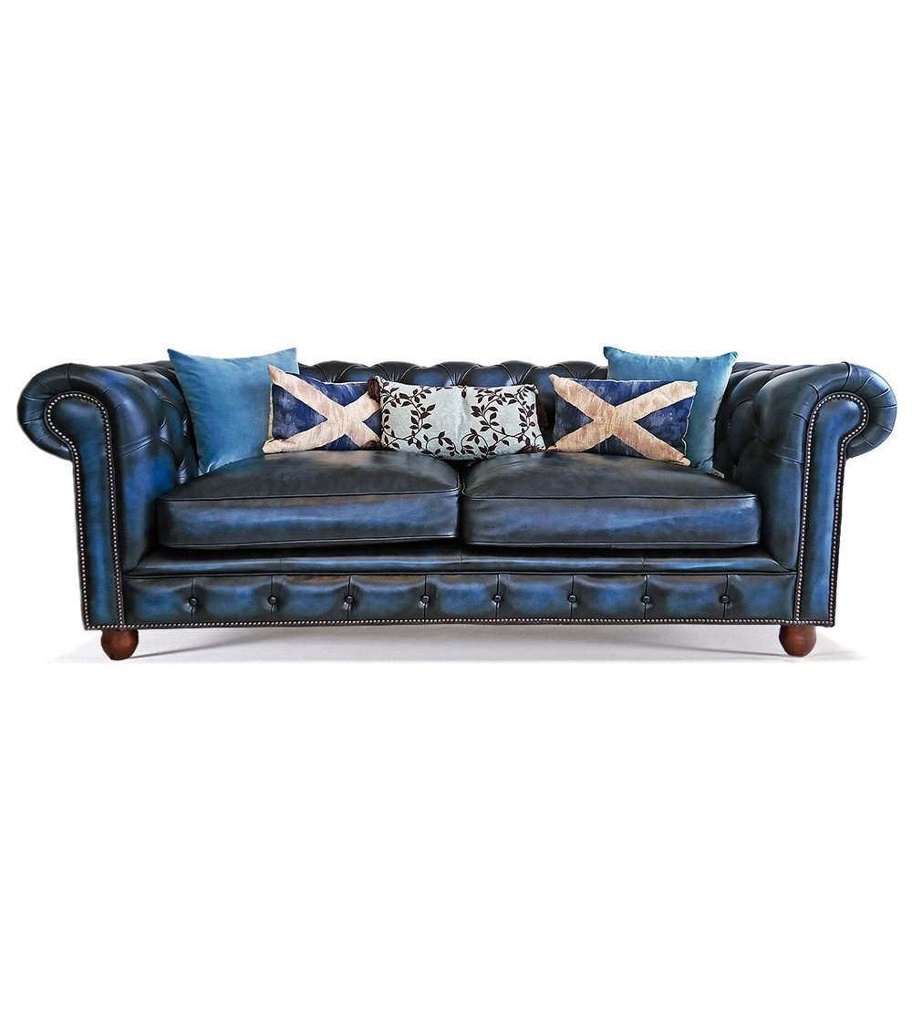 Royal Traditional Handmade English Leather Chesterfield Sofa - House of  Chesterfields