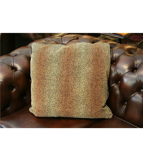Animal Print Feather Filled Cushion