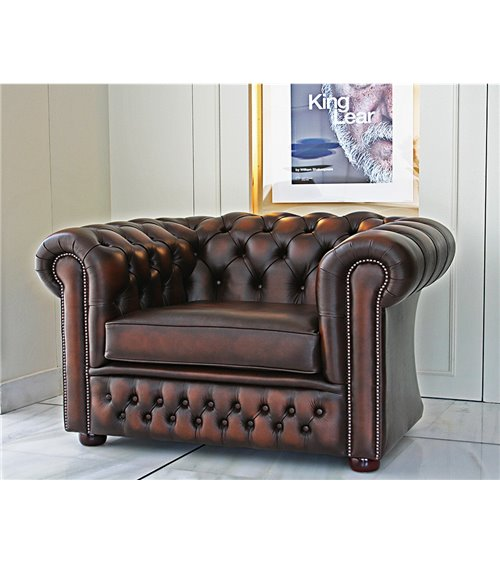 Buckingham Chesterfield Extra Wide Arm Chair